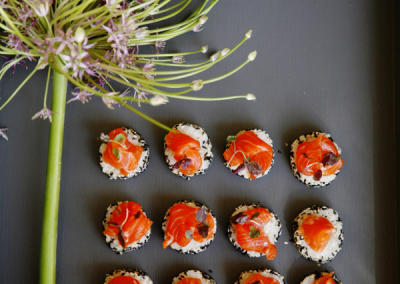 salmon lotus